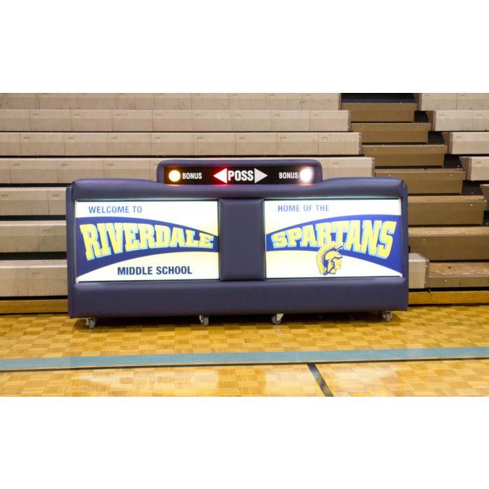 Bleacher Scorers Tables